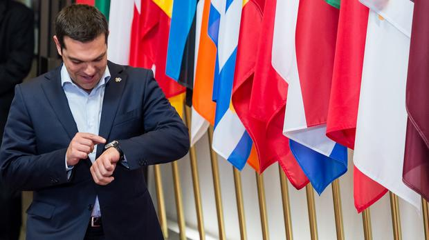 Time is running out for Greek Prime Minister Alexis Tsipras to negotiate a bailout deal. (AP)