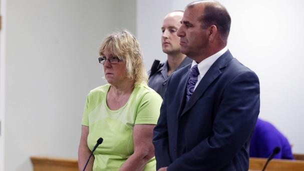 Joyce Mitchell is charged with helping two convicted killers escape from Clinton Correctional Facility in New York state. (AP)