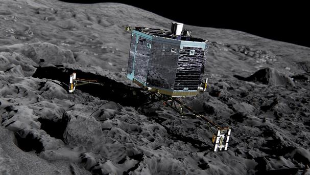 Philae made history last November after detaching from its Rosetta mothership and bouncing down on to the surface of the comet.