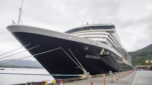 The eight passengers who died with the pilot in an Alaskan plane crash had been on an excursion from the cruise ship Westerdam docked in Ketchikan (Taylor Balkom/Ketchikan Daily News/AP)