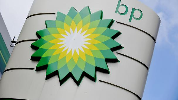 Record pay-out: BP