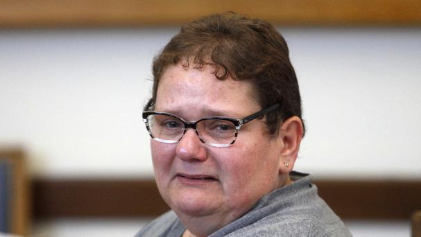 Dominique Cottrez, 51, appears in the courtroom of Douai, northern France, accused of multiple counts of first-degree murder of minors. (AP)