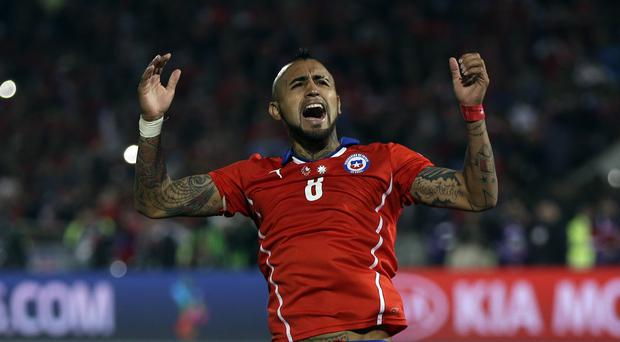Chile's Arturo Vidal has signed for Bayern
