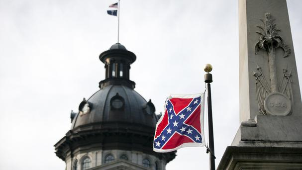 The Confederate flag will no longer fly on the South Carolina capital grounds (AP)