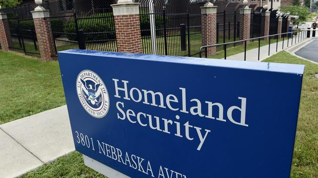 The Homeland Security Department headquarters in north-west Washington DC (AP)