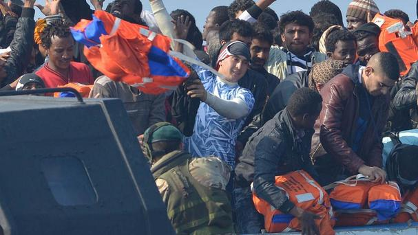 Not all journeys for migrants end as happily as for those rescued by HMS Bulwark