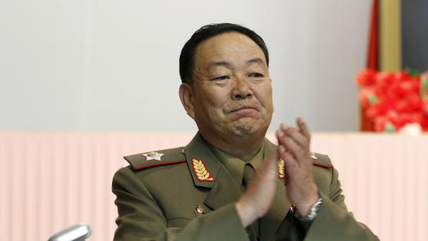 The purging of Vice Marshal Hyon Yong Chol has been confirmed. (AP)