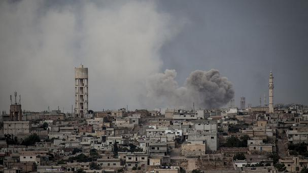 The group is opposed to both president Assad's forces and those of IS (AP)