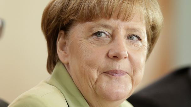 German Chancellor Angela Merkel has been criticised over her handling of a young migrant. (AP)