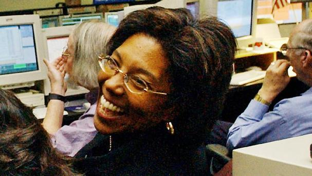 Claudia Alexander during the Galileo mission to Jupiter. (AP)