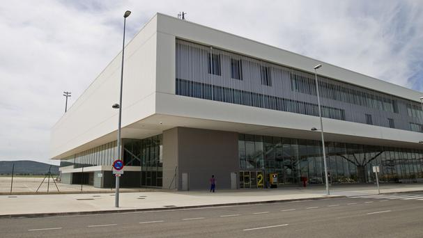The airport terminal in Ciudad Real, Spain (AP)