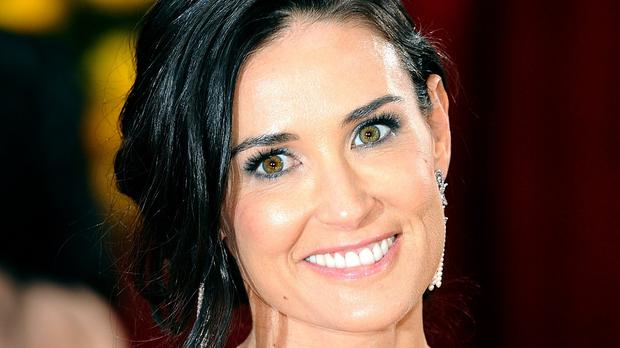 Demi Moore says she is shocked by the death of a young man in the pool of a Los Angeles house owned by the actress