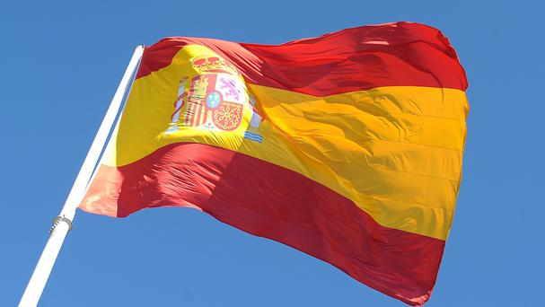 The man was arrested in Melilla, one of two Spanish enclave cities in north-west Africa