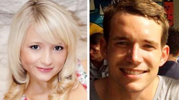 Britons Hannah Witheridge and David Miller were found dead on a beach in Thailand last year (Foreign and Commonwealth Office/PA Wire)