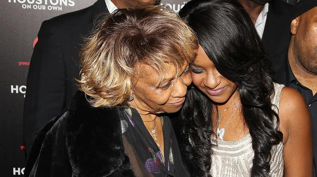 Singer Cissy Houston and her granddaughter Bobbi Kristina Brown attend the premiere party for The Houstons On Our Own in New York in 2012 (AP)