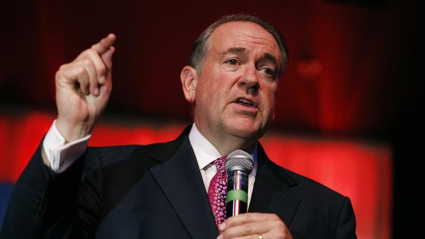 Mike Huckabee is sticking with his controversial criticism of the Iran nuclear deal (AP)