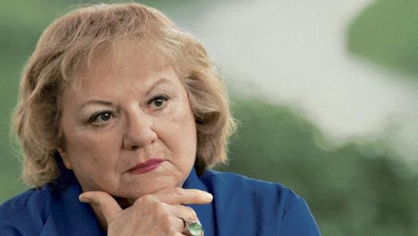 True-crime author Ann Rule wrote more than 30 books, including a profile of her former co-worker, serial killer Ted Bundy (Betty Udeson/The Seattle Times/AP)