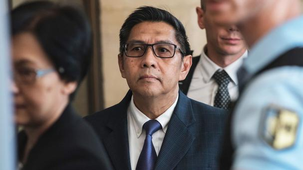 Malaysia's Department of Civil Aviation director general Azharuddin Abdul Rahman arrives for a meeting with French investigators (AP)