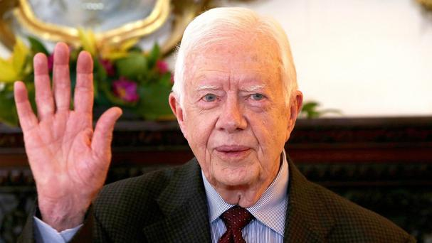 Jimmy Carter is expected to make a full recovery