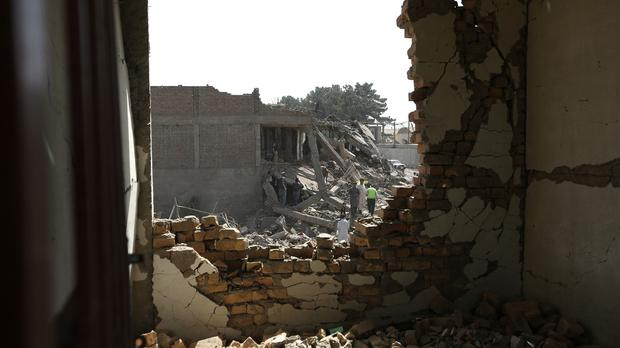 A suicide bomber targeted a meeting of criminal groups in northern Kunduz