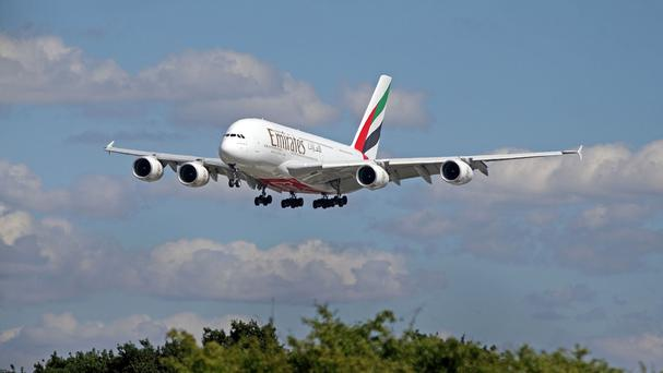 The new Emirates flight will fly between Dubai and Dallas
