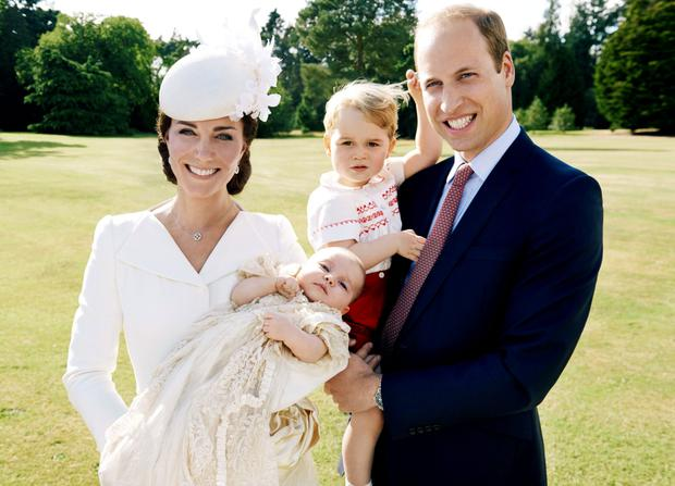 George, Harry and William continue to place highly on the top baby names list