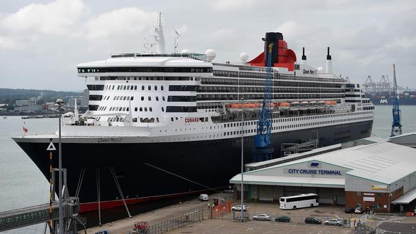 The Queen Mary 2 is Cunard's flasgship
