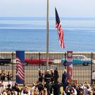 The Stars and Stripes is raised at the US embassy in Havana