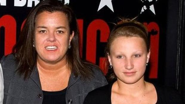 Rosie O'Donnell's and daughter Chelsea, pictured in 2010