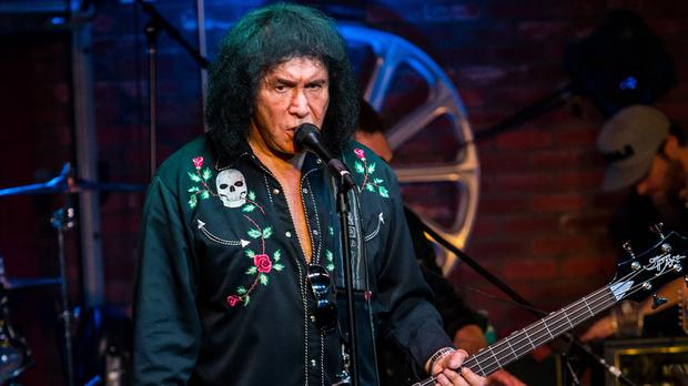 Gene Simmons is not suspected of a crime, police emphasised (AP)