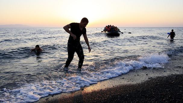 Migrants are risking their lives in a bid to reach Europe