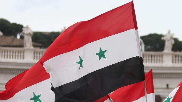 The main prison near Damascus has been shelled, the Syrian government said