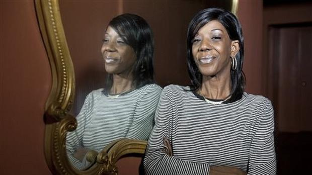 Marcy Borders was a survivor of the 9/11 attacks (Reena Rose Sibayan/The Jersey Journal/AP)
