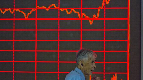 Stocks fell on Asian markets after days of turbulence