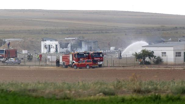 The blast at the fireworks factory in Spain killed a number of people and seriously injured others (AP)