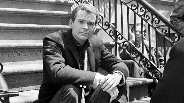 Dean Jones, pictured in New York in 1966, has died aged 84 (AP)