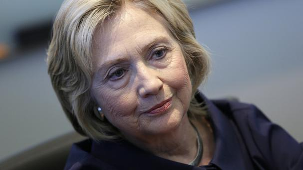 Hillary Clinton said the setting up of the private email account was a mistake. (AP)