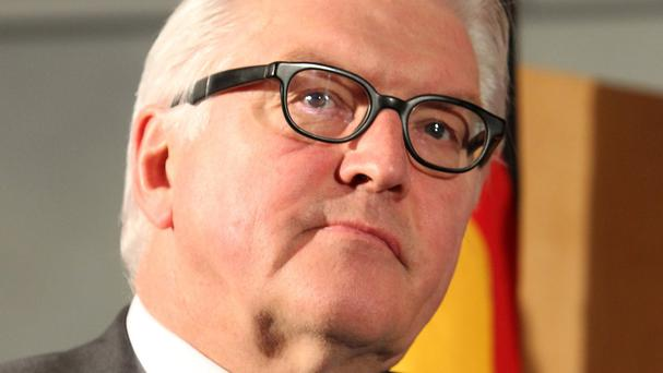 Frank-Walter Steinmeier says the European Commission's proposal to redistribute refugees will send more to Germany