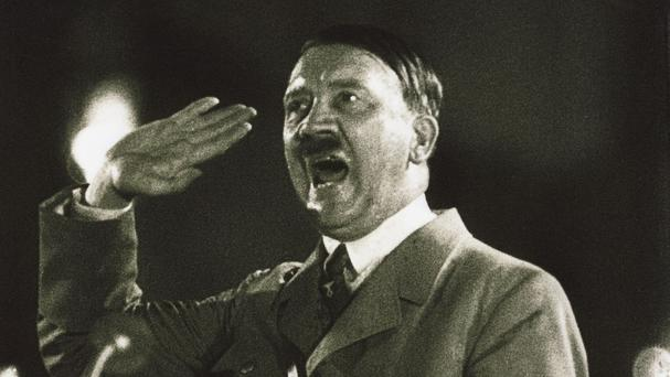 A nuclear shelter for Hitler has reportedly been found near the Polish city of Walbrzych.(Britsh Pathe/PA)