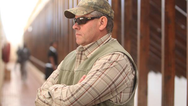 Professional hunter Theo Bronkhorst has been arrested again. (AP)