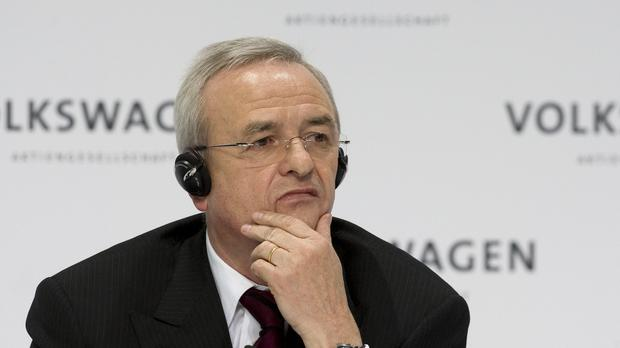 Martin Winterkorn, former chairman of the board of the Volkswagen group. (AP)
