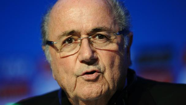 Sepp Blatter has told staff at Fifa HQ that he has done nothing wrong