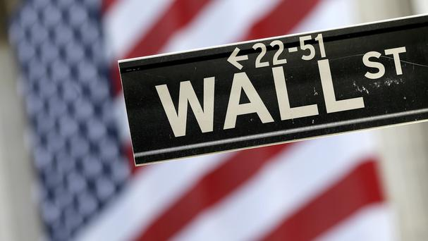 Wall Street's Standard & Poor's 500 index enjoyed its first gain in six days thanks to a rebound in the healthcare sector (AP)