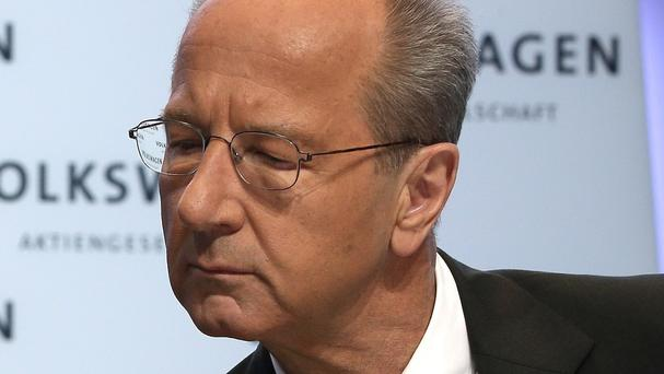 Hans Dieter Poetsch will become Volkswagen's new chairman. (AP)