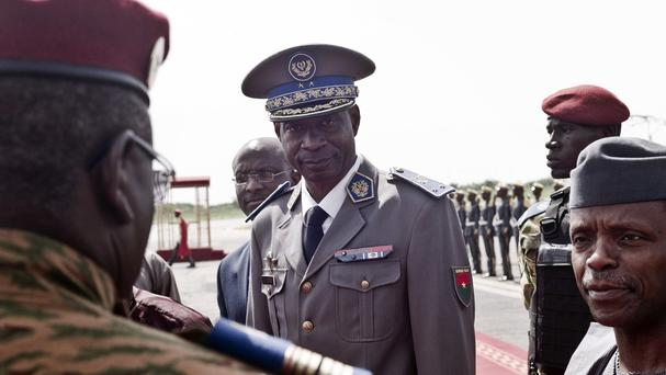 Burkina Faso coup leader General Gilbert Diendere is in custody. (AP)