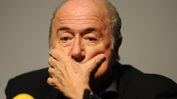 Sepp Blatter is under pressure to step down immediately