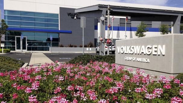 Volkswagen's test centre in Oxnard, California (AP)