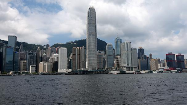 The yacht set off from Hong Kong last week