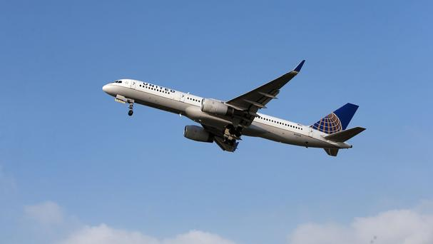 The incident involved a United Airlines plane flying from Houston to San Francisco