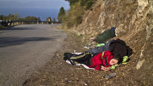 European countries are trying to cope with a big influx of migrants (AP)